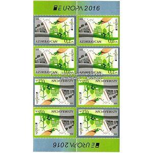 Aserbaidschan Azerbaijan Europa CEPT 2016, Umwelt/Think green, MH-Bogen ** - Heidelberg, Deutschland - Aserbaidschan Azerbaijan Europa CEPT 2016, Umwelt/Think green, MH-Bogen ** - Heidelberg, Deutschland
