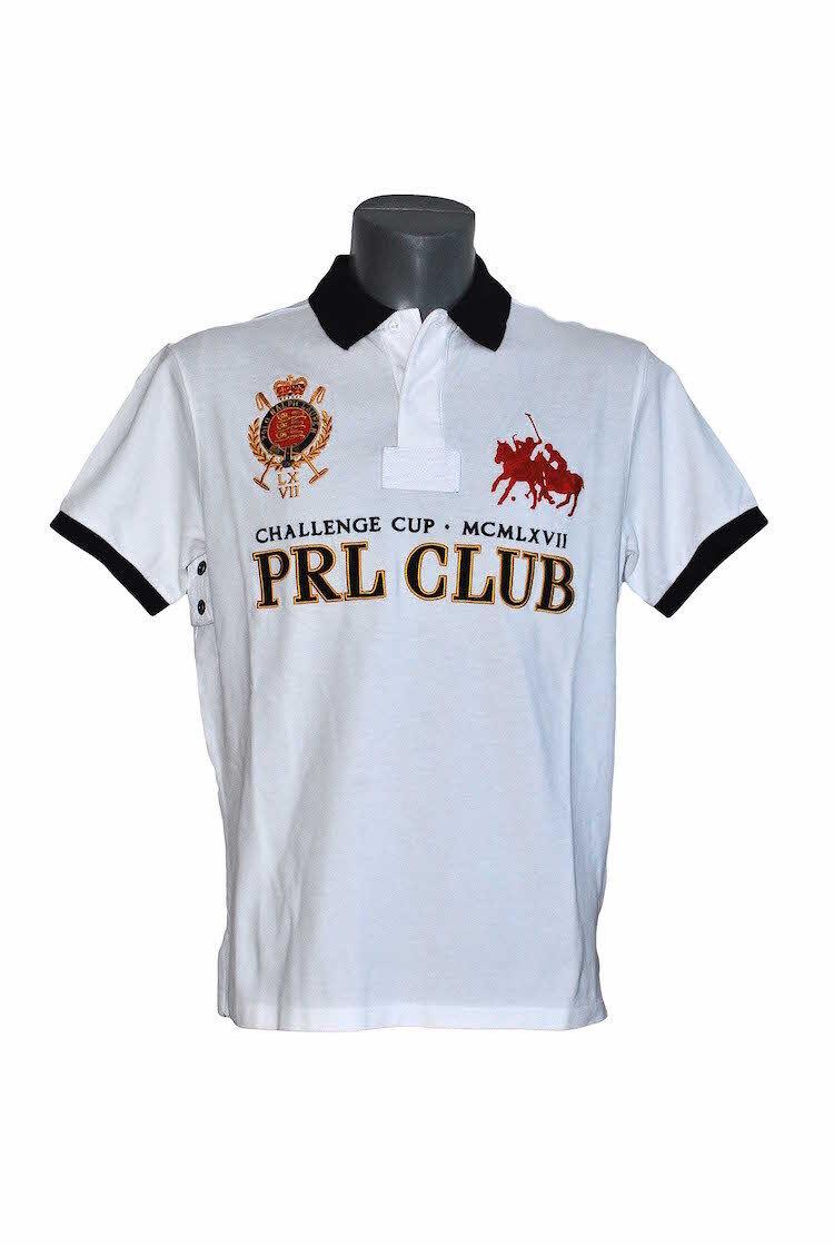 Herren Polo Ralph Lauren Club Dual Mat - 1290867 - Weiß T-shirts