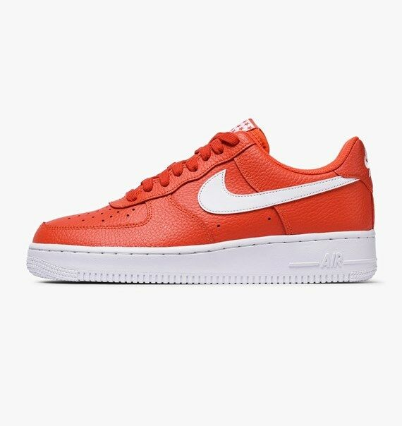 Nike Air Force 1 One '07 Low Top Team Orange White AA4083 800 AF1 Uptown Size