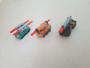 Transformers Armada Minicon Land Military Team, Bonecrusher, Knock Out, Wreckage