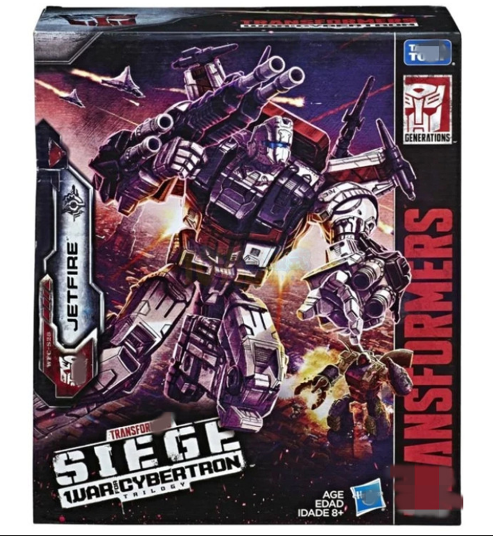 Hasbro Transformers Cybertron BATTAGLIA D'ASSEDIO Serie L cielofire 3c giocattoli