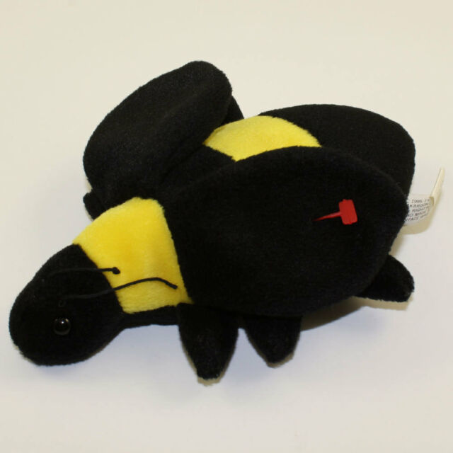 731edc25d6a Ty Beanie Baby Bumble The Bee 1995 RARE 4th Gen Hang Tag NWMT for ...