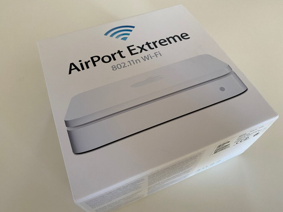 Router, wireless, Apple Airport Extreme A1408