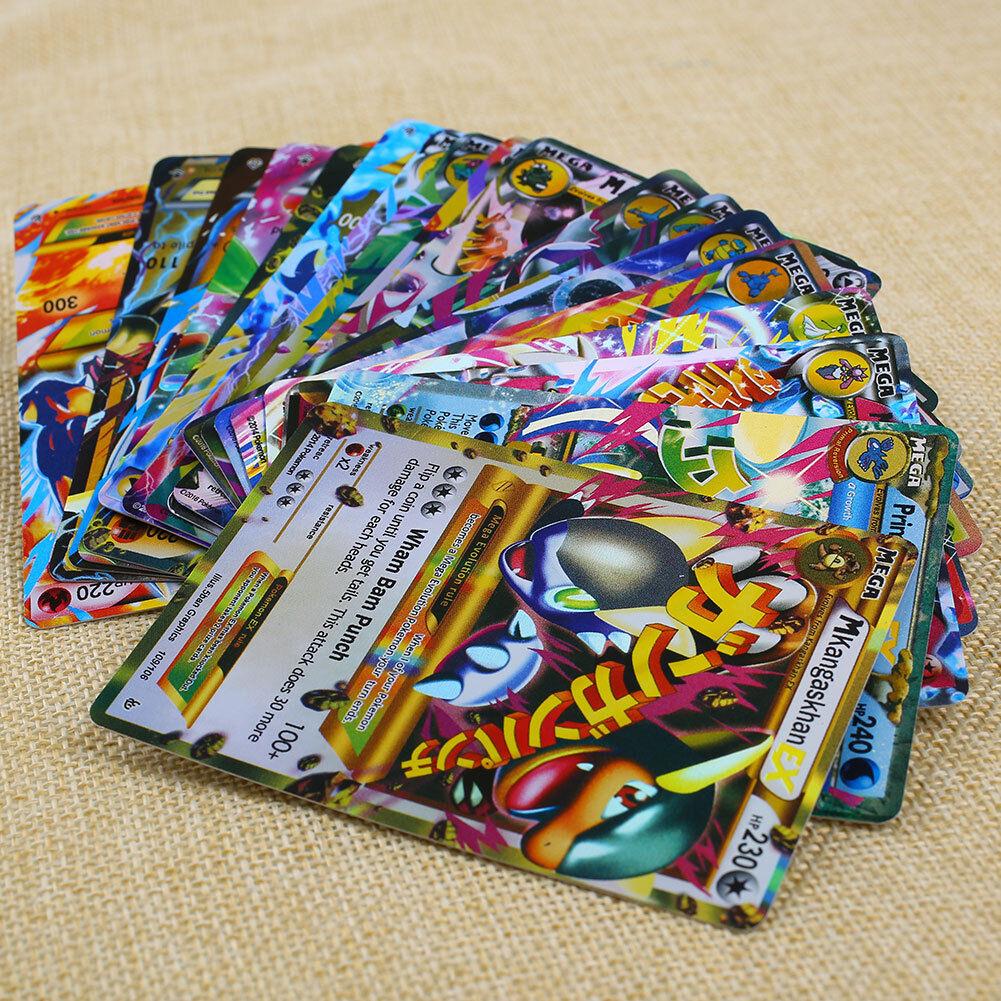 18pcs Pokemon TCG 18 CARD MEGA Poke Flash Cards EX