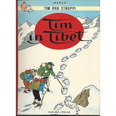 """Tim und Struppi - Stoffrücken (Zweitausgabe, 1967) """" Tim in Tibet """" in Top"""