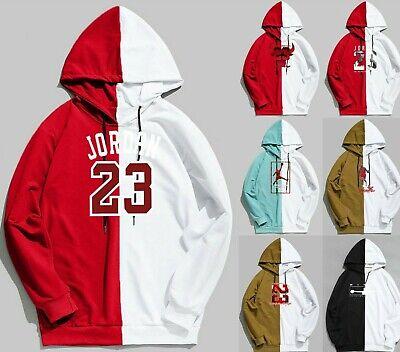Michael Air Legend 23 Jordan Wings Mens Hoodie Front /& Back Men Sweatshirts Styl