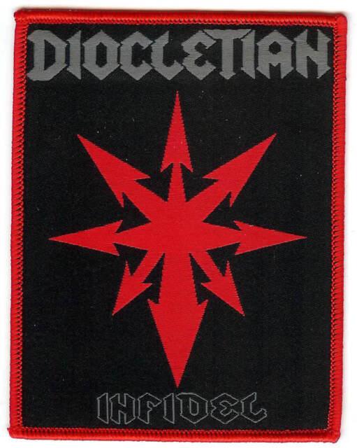 Diocletian Infidel Patch Archgoat Revenge Blasphemy Conqueror Proclamation Death