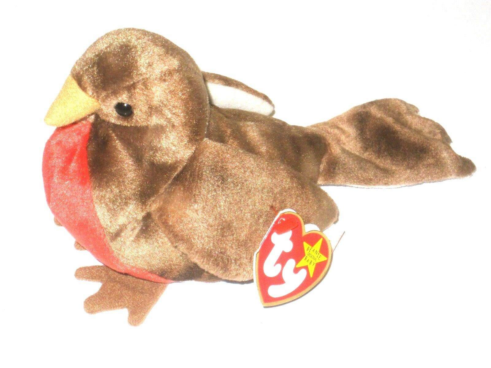 Ty Beanie Baby Early Original P E Pellets Retired 1997 1998 Tag Errors