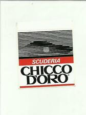 sticker adesivo DA COLLEZIONE SCUDERIA CHICCO D' ORO