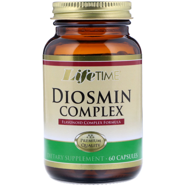 Diosmin Complex Hesperidin Vascular Health LifeTime 60 Capsules I