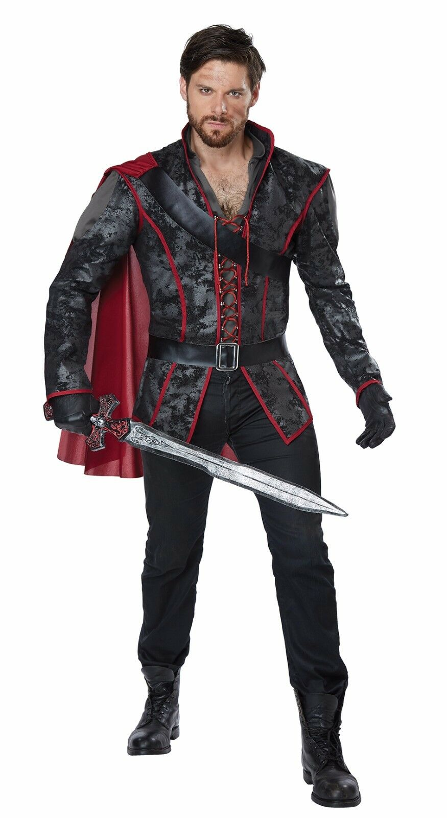Disney Snow White Storybook Huntsman Prince Knight Adult Costume Ebay