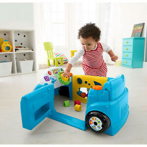 Smart Blue Toy Car Fisher-Price Laugh & Learn Stages Baby ...