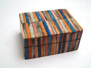 1425a79a91c8 magnifique boite à bijoux, arts du monde, 6 x 8 cm G-17   eBay