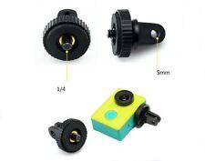 """1/4"""" adaptador de tornillo para trípode de montaje de cámara Gopro Hero 5 4 3+ GO1"""