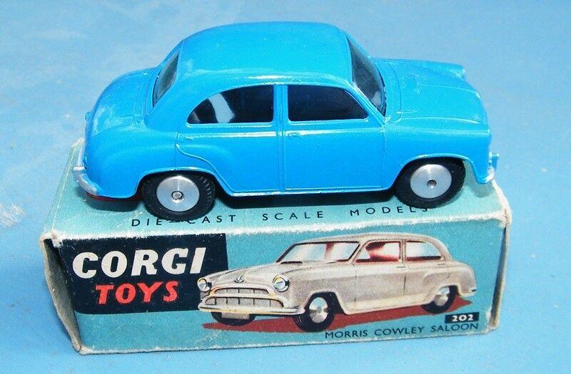 Corgi Toys 202 Morris Cowley Saloon Original NMIB