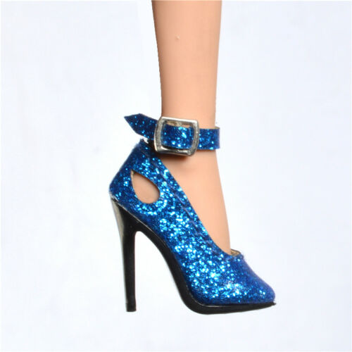 Blue Pumps shoes for Fashion royaltyⅡ FR2 Nu Face 2 poppy parker obitsu doll
