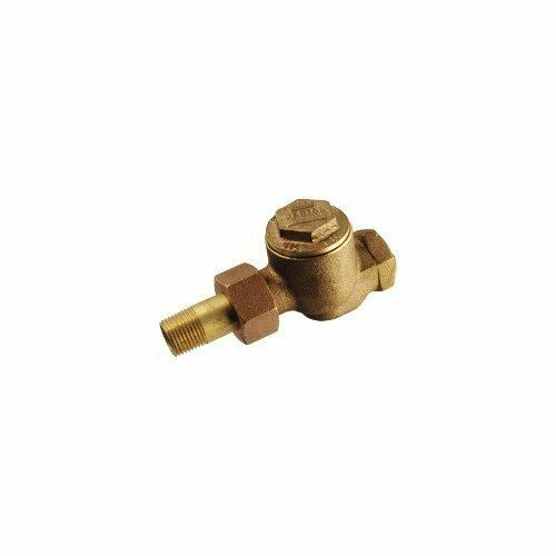 """MEPCO 1E Brass Steam Trap-1//2/"""" x 1//2/"""" NPT Outlet-Thermostatic-Radiator-Straight"""