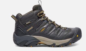 Keen Lansing Men's WP Slip Resistant EH Steel Toe Mid Work Boot 1018079