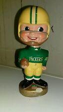 ORIGINAL 1968 GREEN BAY PACKERS PAPER MACHE BOBBLEHEAD