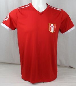 e963d3e03 Image is loading Peruvian-soccer-unisex-team-world-cup-t-shirt-
