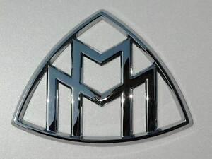 mercedes maybach emblem badge chrome oem original | ebay