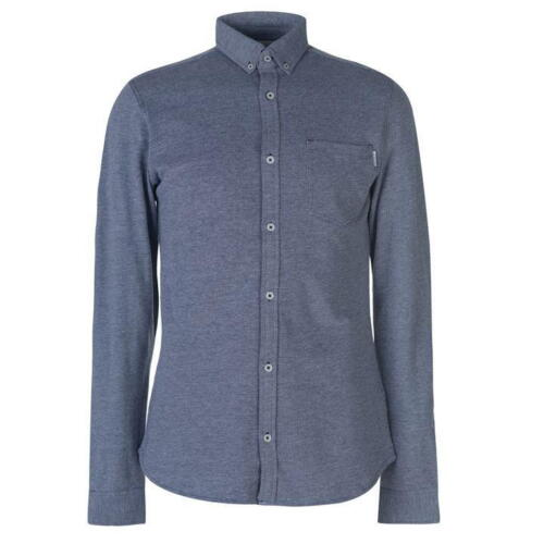JACK and Jones Core ALEX Camicia a maniche lunghe pulsante blu una tasca uscendo Mer