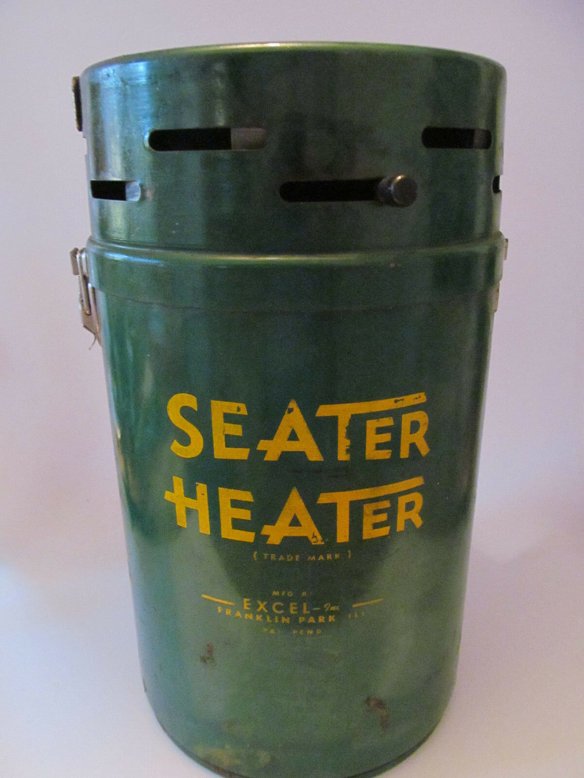 Vintage SEATER HEATER Butt Warmer ICE FISHING & HUNTING SEAT Made USA