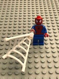 Lego Minifigure Super Heroes 2012 variant Spider-man minifig Figure Brand new