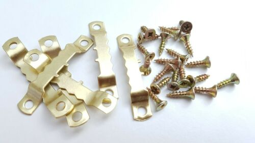 Saw Tooth Hangers 45mm With Screws Picture Canvas Frame Hanging Multi List