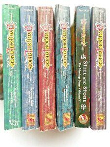 DRAGONLANCE Las reuniones sexteto de Colección Libros de TSR 1-6 completa compañeros Nostalgia