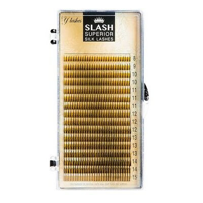 SLASH Silk Y Lashes 2D Wimpern Mix-Set mit diversen Längen Wimpernverlängerung