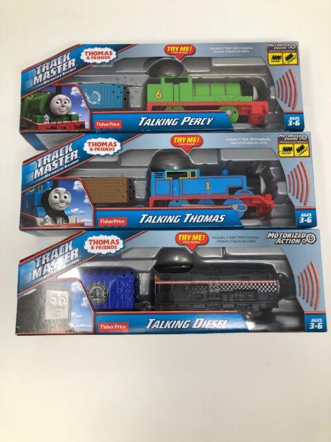 Fisher-Price Thomas /& Friends TrackMaster Talking Percy CDB85