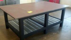 Fine Details About 4X12Weld 12 Badass Workbench Welding Table 4 Ft X 12 Ft W 1 2 Steel Top Short Links Chair Design For Home Short Linksinfo