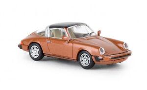 16362-Brekina-Porsche-911-G-targa-metallic-orange-1-87