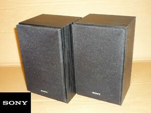 PAIR OF SONY SPEAKERS 4 OHM OHMS SSCEH15 - BOURNEMOUTH, Dorset, United Kingdom - PAIR OF SONY SPEAKERS 4 OHM OHMS SSCEH15 - BOURNEMOUTH, Dorset, United Kingdom