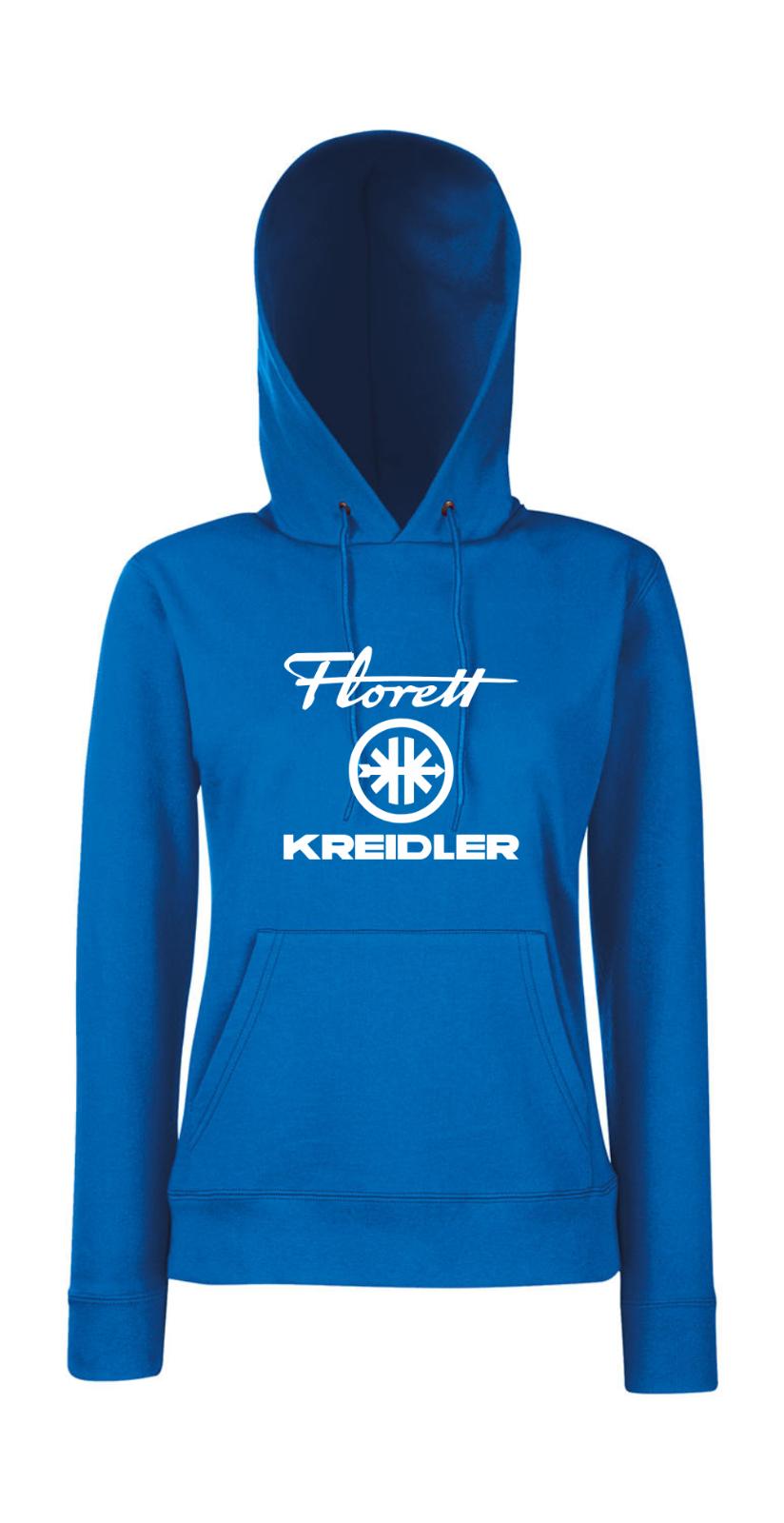 Florett Keidler + Logo I Prétentions I Fun I I I Drôle I Fillette Pull à Capuche e66019