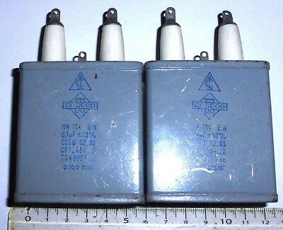 400 V 6 CONDENSATEURS AUDIO MKP 2,2 µF +// 3/%