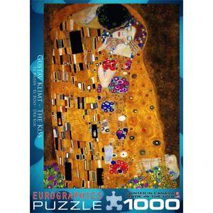 1000 Pièce Le Kiss Art Puzzle par Gustav Klimt-Puzzle EuroGraphics fine  </span>