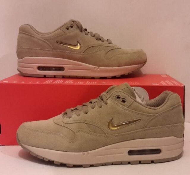 undefeated x really cheap competitive price Nike Air Max 1 Premium SC JEWEL Suede Neutral Olive 918354 201 US ...