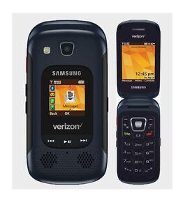 Image Is Loading Samsung Convoy 4 SM B690 Blue Verizon Rugged