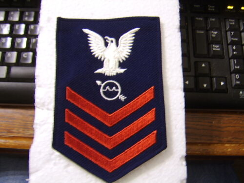USCG RATING BADGE MALE K6 OS1 Operations Specialist PO1