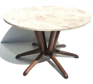 Mid Century Modern Kodawood Small Dining Table Or Entry Table Ebay