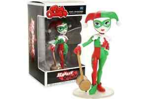 "Harley Quinn Holiday US Exclusive Rock Candy 5"" Vinyl Figure Funko Batman Joker"