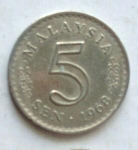 Parliament-Series-5-sen-coin-1968
