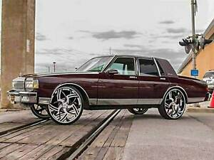 77 90 box chevy donk caprice lift kit fit 28 26 24 rims tires on impala ebay details about 77 90 box chevy donk caprice lift kit fit 28 26 24 rims tires on impala