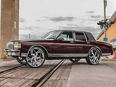 77 90 box chevy donk caprice lift kit fit 28 26 24 rims tires on impala ebay 77 90 box chevy donk caprice lift kit fit 28 26 24 rims tires on impala ebay