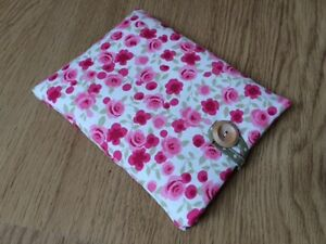 iPad 4  3  2 Fabric Padded Case Handmade With Clarke and Clarke Ditsy Rose - <span itemprop=availableAtOrFrom>Wilmslow, United Kingdom</span> - I hope you will be delighted with your purchase. If however, you should wish to return an item please notify me stating the reason why within 48 hours of receipt and return the goods in  - Wilmslow, United Kingdom