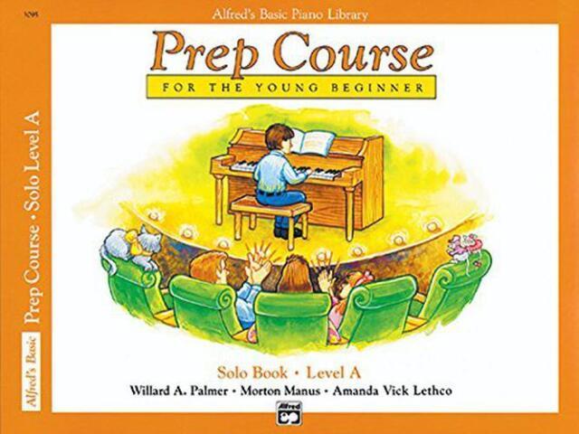 Alfred's Basic Piano Vorbereitung Natürlich Solo Buch,Book A (Alfred's