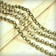 HOT!!! Fashion DIY Rollo Unfinished Chains wholesale Fit bracelet Necklace