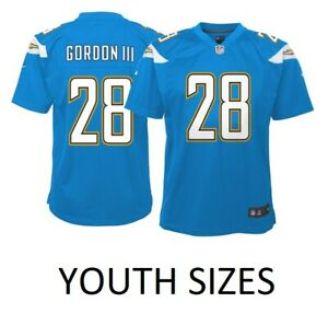 hot sale online 6dcfe 3b8e3 Melvin Gordon Los Angeles Chargers Nike Youth Boys Game ...